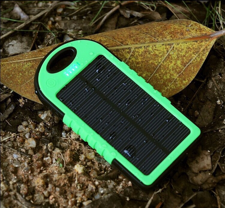 Portable Solar Charger Foldable Power Bank